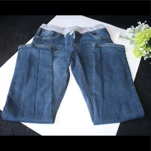 Justice Girl's Pull On super low Jean Pants